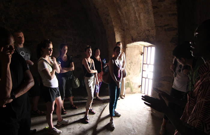 Slave Dungeon at the Elmina Castle