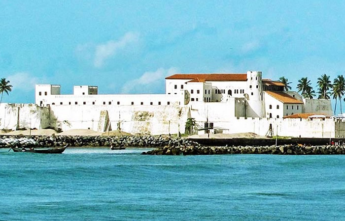 The Majestic view of the Elmina Castle